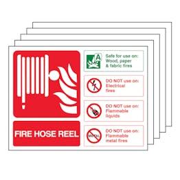 5PK - Fire Hose Reel - Landscape
