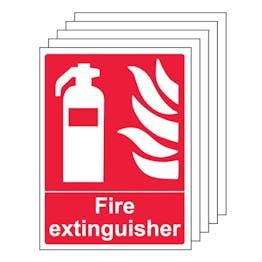 5PK - Fire Extinguisher - Portrait