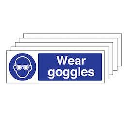 5PK - Wear Goggles