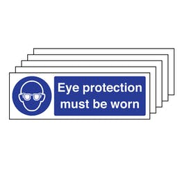 5PK - Eye Protection Must Be Worn