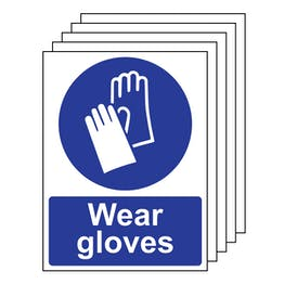 5PK - Wear Gloves - Portrait