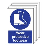 5PK - Wear Protective Footwear - Portrait