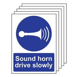 5PK - Sound Your Horn Drive Slowly