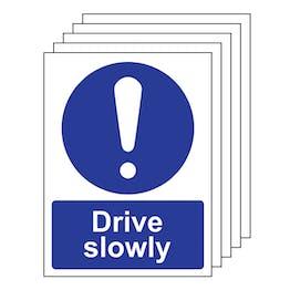 5PK - Drive Slowly - Portrait