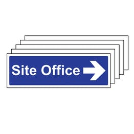 5PK - Site Office With Arrow Right