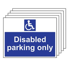 5PK - Disabled Parking Only
