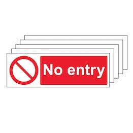 5PK - No Entry - Landscape