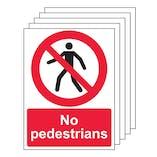 5PK - No Pedestrians - Portrait