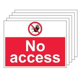 5PK - No Access - Large Landscape