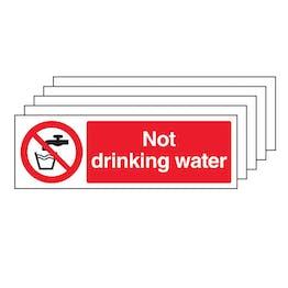 5PK - Not Drinking Water - Landscape