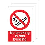 5PK - No Smoking In this Building - Portrait