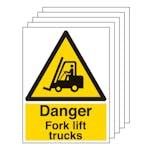 5PK - Danger Fork Lift Trucks - Portrait