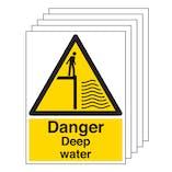 5PK - Danger Deep Water - Portrait