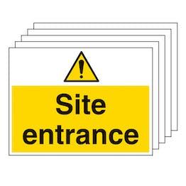 5PK - Site Entrance - Large Landscape
