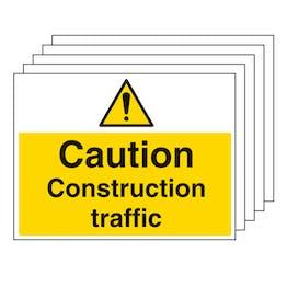 5PK - Construction Traffic - Large Landscape