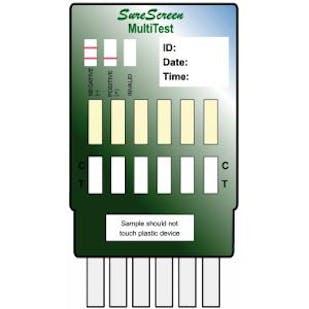6 Drug Multipanel Test