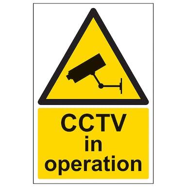 CCTV In Operation - Portrait