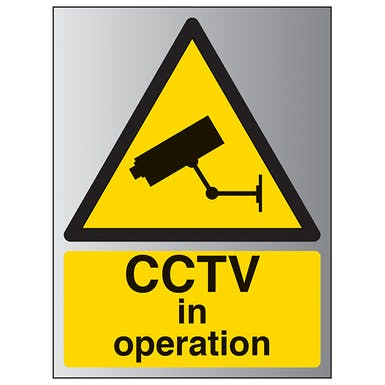 Aluminium Effect - CCTV In Operation