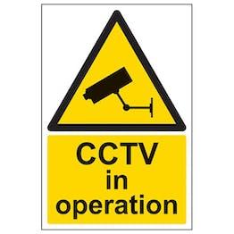 Eco-Friendly CCTV In Operation - Portrait