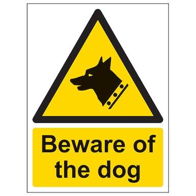 Beware Of The Dog - Portrait