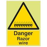 GITD Danger Razor Wire