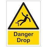 Danger Drop - Portrait