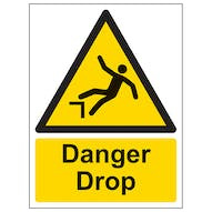 Danger Drop - Portrait