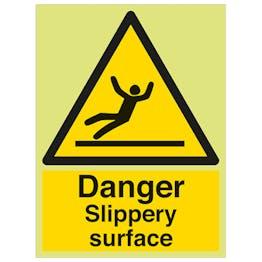 GITD Danger Slippery Surface