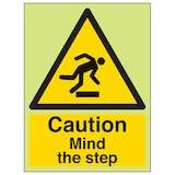 GITD Caution Mind The Step - Portrait