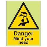 GITD Danger Mind Your Head - Portrait
