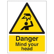 Danger Mind You Head - Portrait