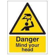 Danger Mind You Head - Portrait