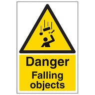 Danger Falling Objects - Portrait