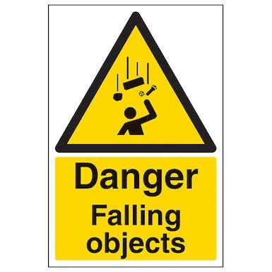 Danger Falling Objects - Portrait