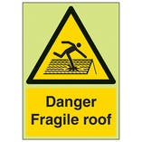 GITD Danger Fragile Roof