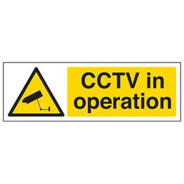 CCTV In Operation - Landscape
