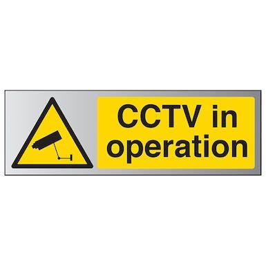 Aluminium Effect - CCTV In Operation - Landscape