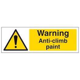 Eco-Friendly Warning Anti-Climb Paint - Landscape