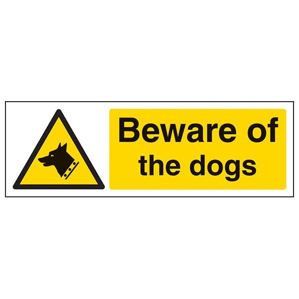 Beware Of The Dog - Landscape