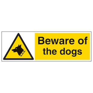Beware Of The Dog - Landscape