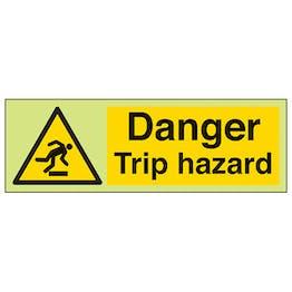 GITD Danger Trip Hazard - Landscape
