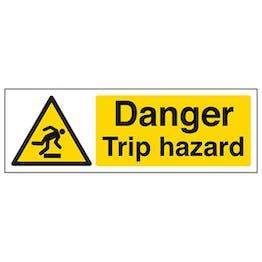 Eco-Friendly Danger Trip Hazard - Landscape