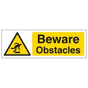 Beware Obstacles - Landscape