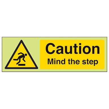 GITD Caution Mind The Step - Landscape