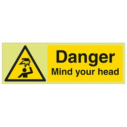 GITD Danger Mind Your Head - Landscape