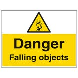 Danger Falling Objects - Large Landscape