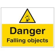 Danger Falling Objects - Large Landscape