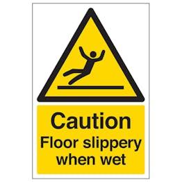 Caution Floor Slippery
