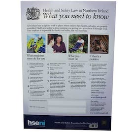 Health And Safety Law In Northern Ireland Poster
