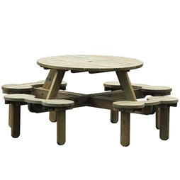 Vauxhall Round Picnic Table